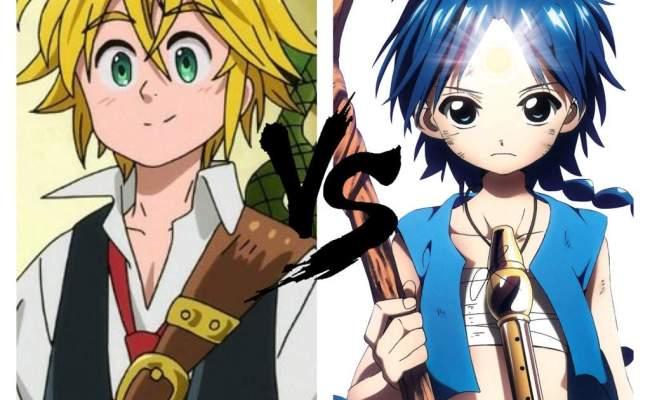 Magi Vs The Seven Deadly Sins Anime Amino