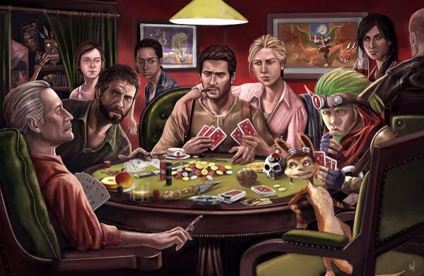 artwork fan naughty dog