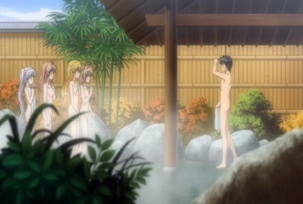 Image result for anime onsen coed
