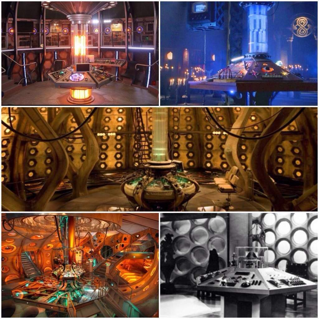 Top 5 TARDIS Interiors  Doctor Who Amino