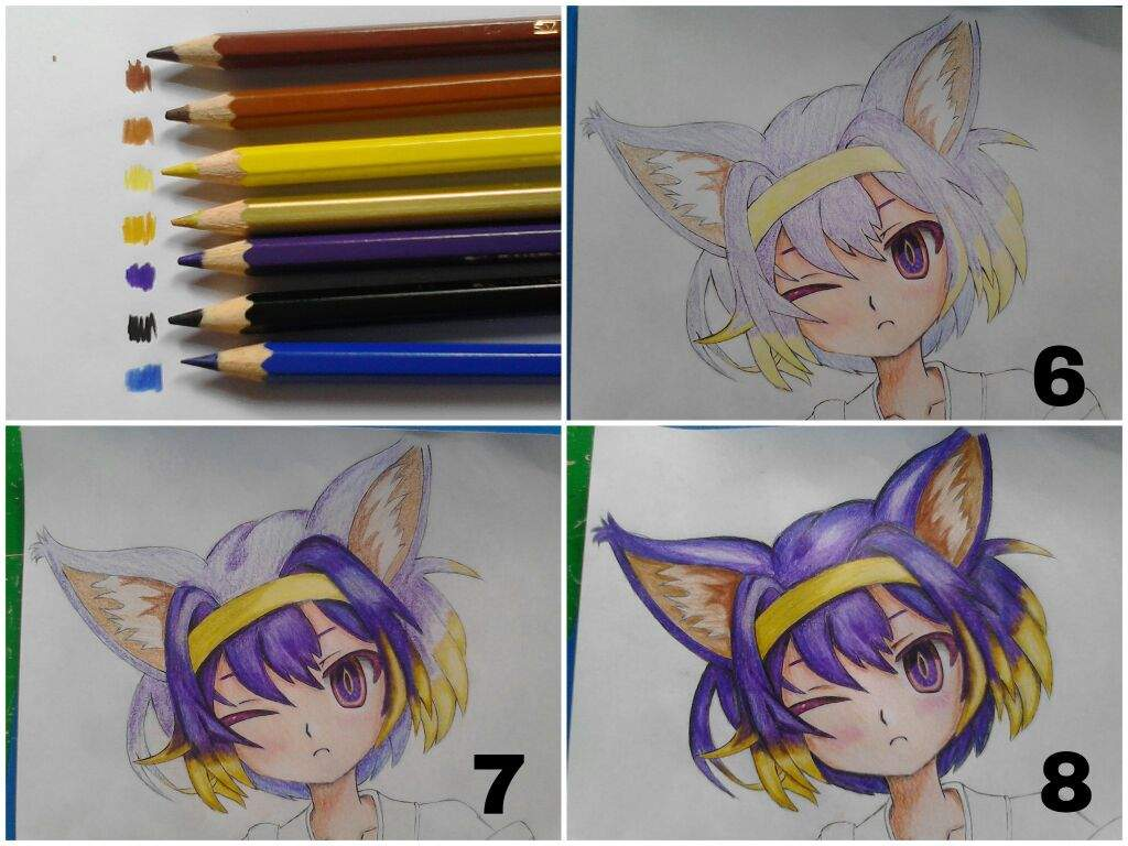 Tutorial 1 Basic Coloring Using Colored Pencils