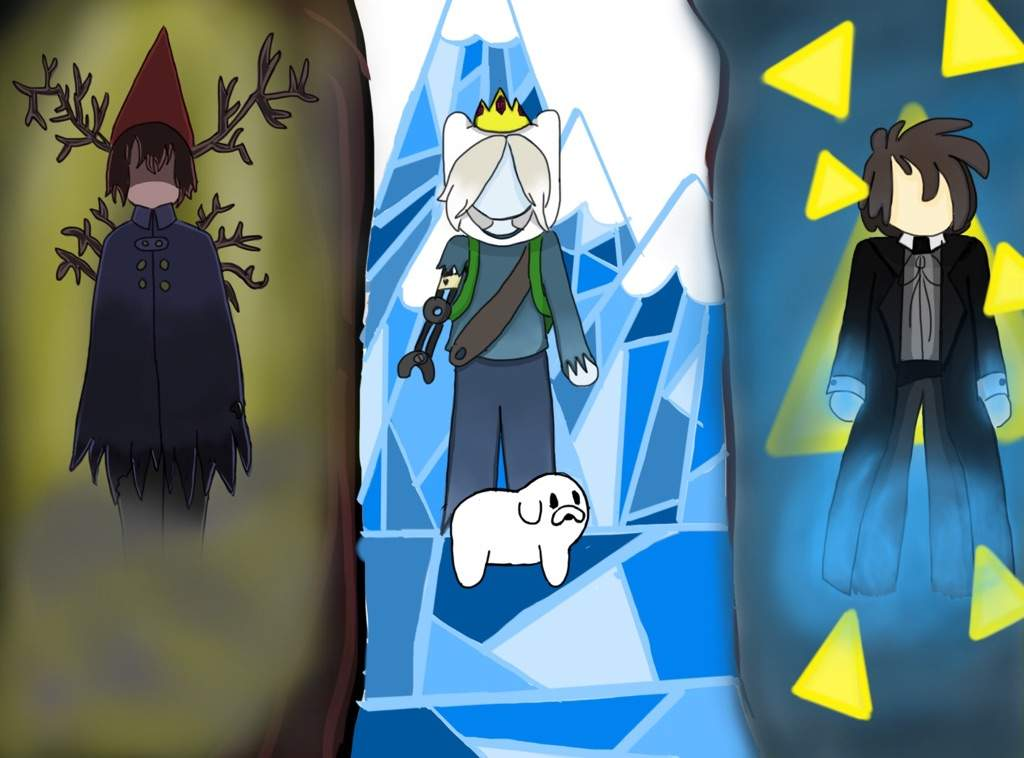 Gravity Falls Fan Art Wallpaper Bad End Friends All Art Goes To Its Respective Owners