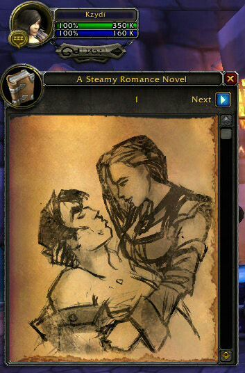 a steamy romance novel