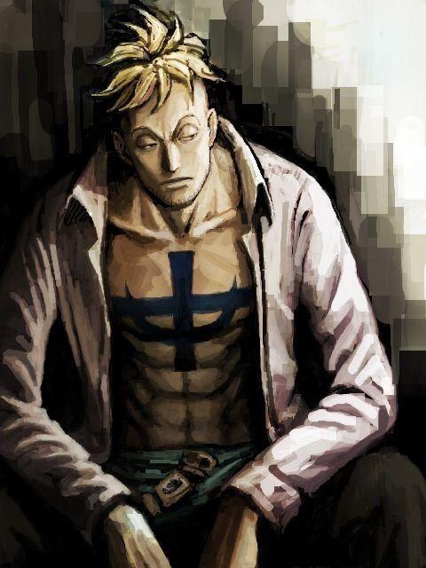 Anime One Piece Marco The Phoenix