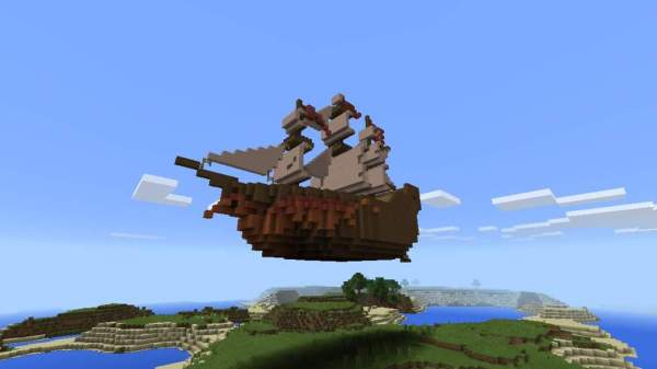 pirate ship minecraft # 20