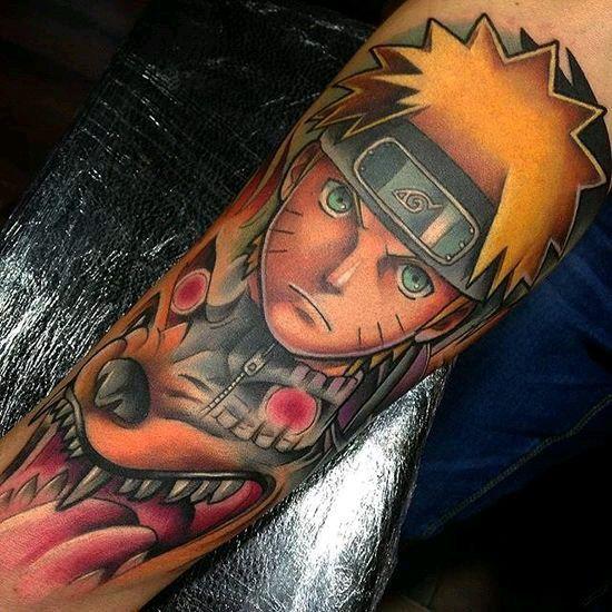 Top 5 Los Mejores Tatuajes De Naruto Anime Amino