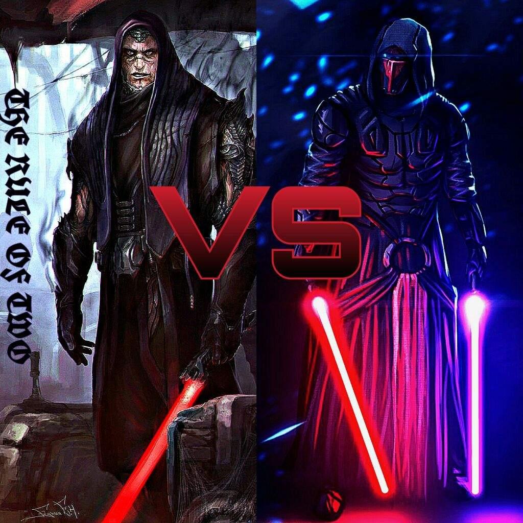 Darth Bane VS Darth Revan Star Wars Amino