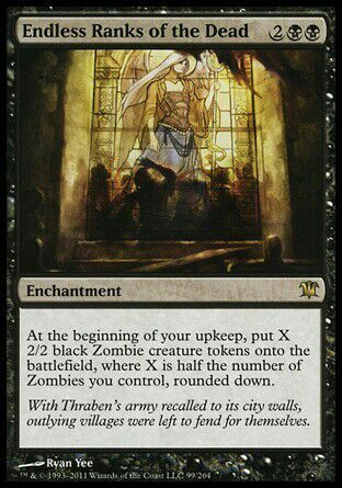 What are some zombie token generators  MTG Amino