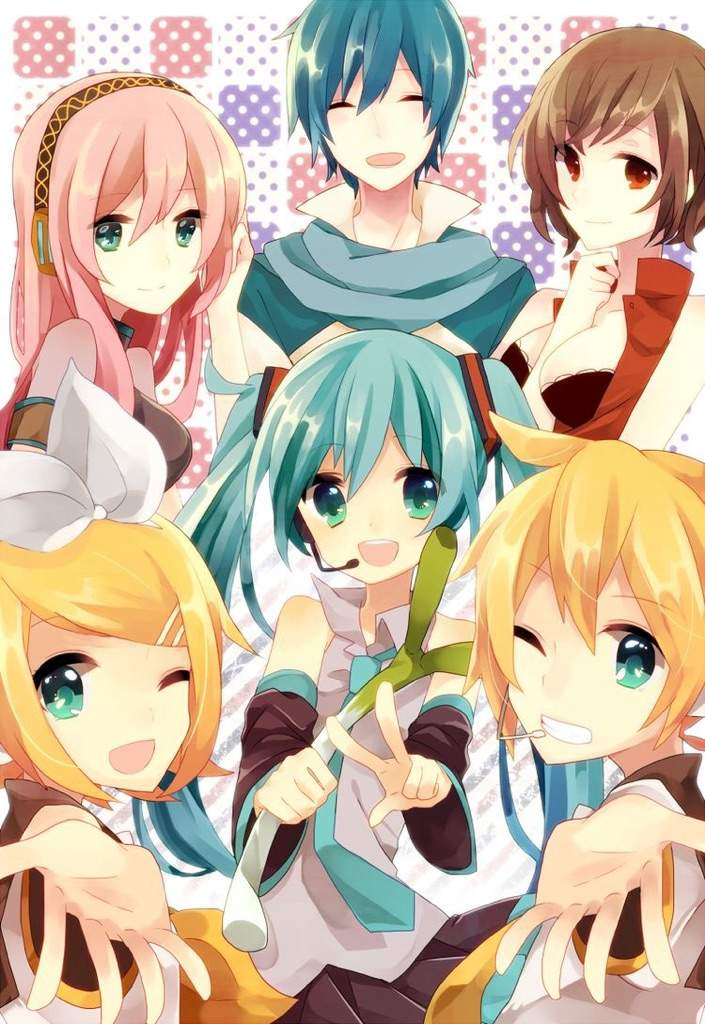 5 cute vocaloid characters
