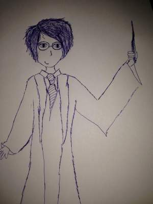 potter harry simple draw