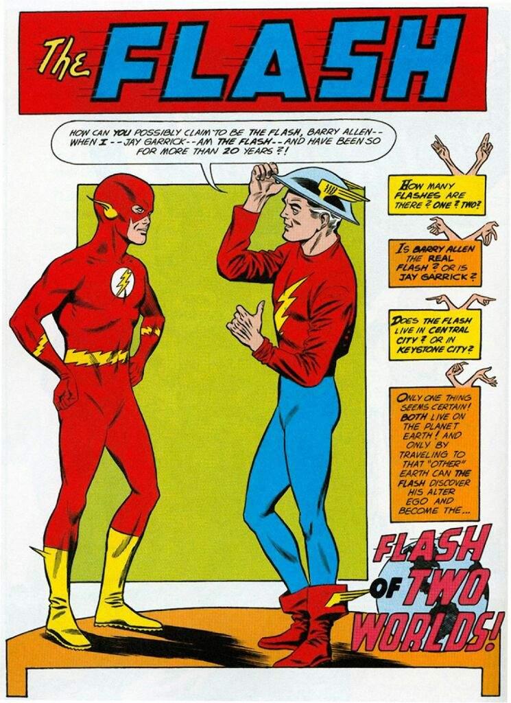 Resultado de imagen de the flash comic antiguo