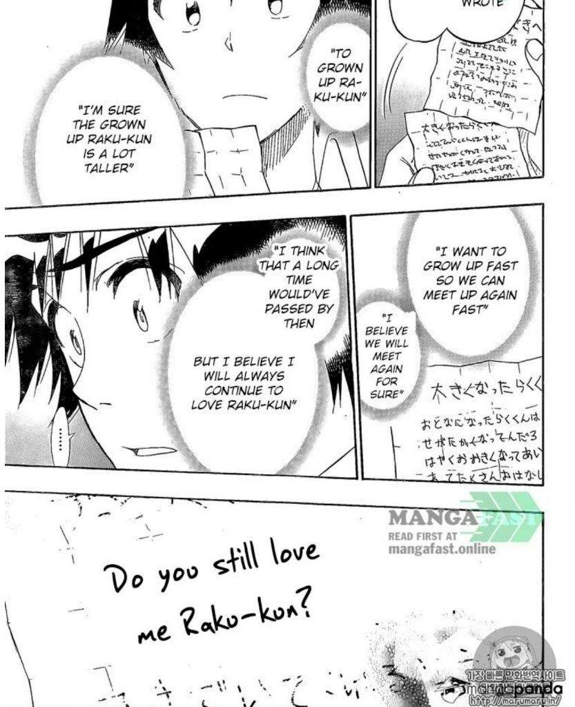 CH 26: Onodera Wins The Fight but Chitoge Wins The Battle
