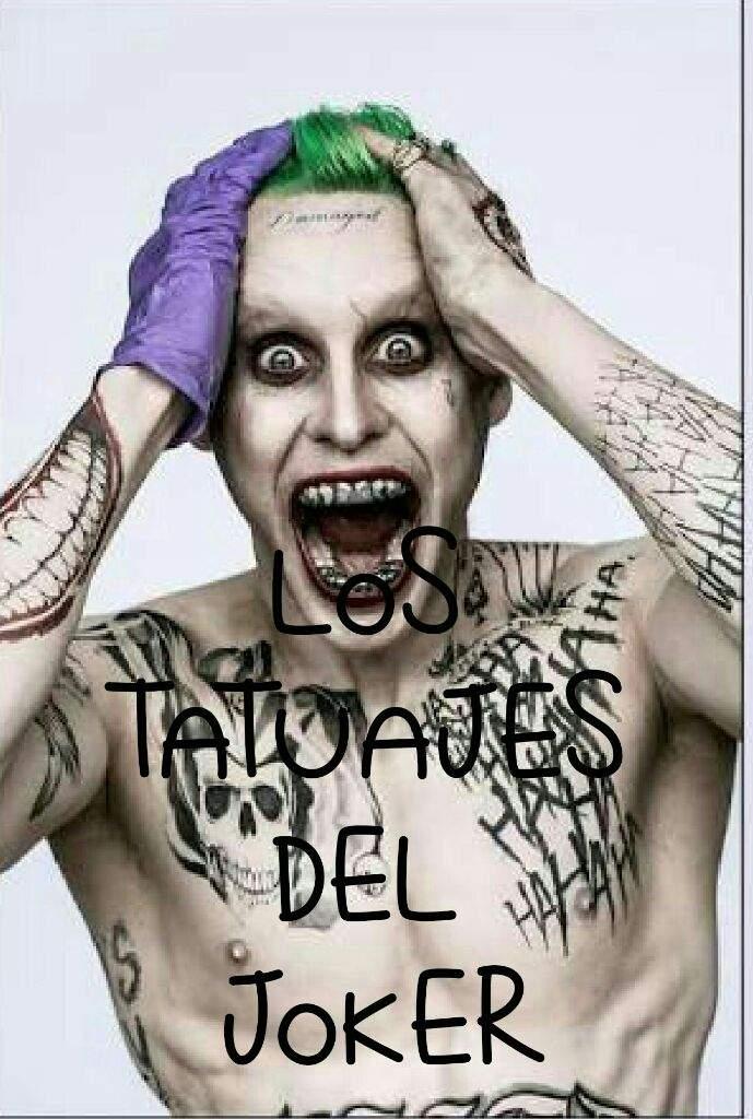 El Significado Oculto De Los Tatuajes Del Joker Cómics Amino
