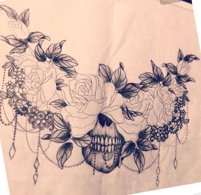 Small Under Breast Tattoo Designs