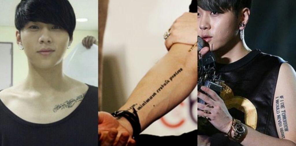 Idols Del Kpop Con Tatuajes K Pop Amino
