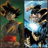 Black Goku Vs Black Adam