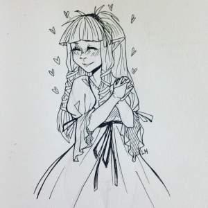 zelda drawing drawings