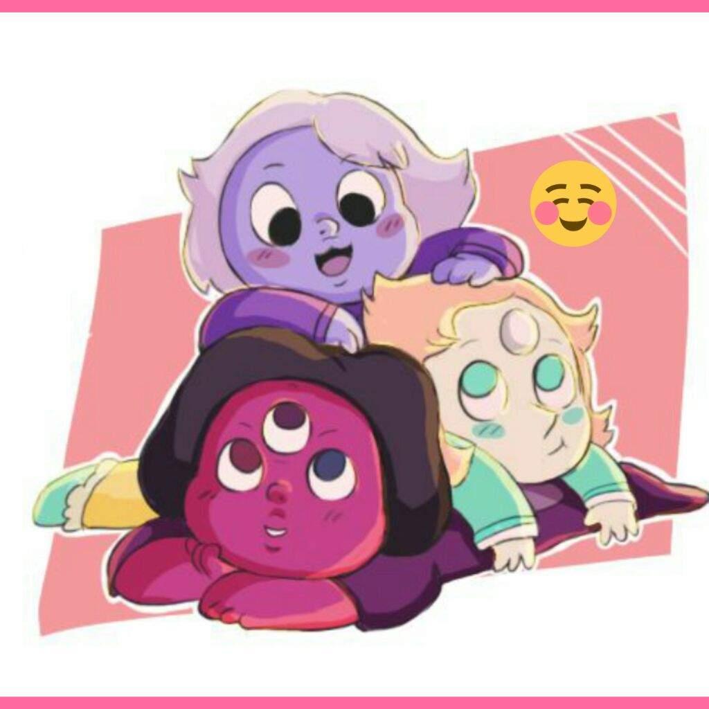 baby crystal gems steven
