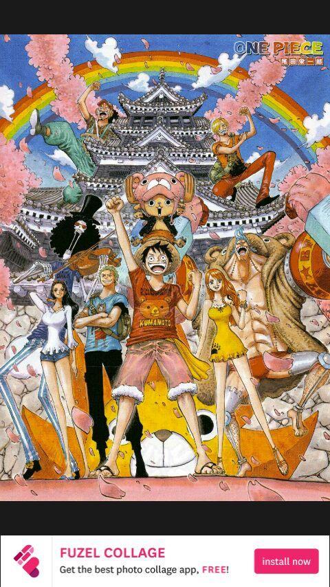 Luffy Red Roc vs Kaidou [Motion Manga] - One Piece Chapter