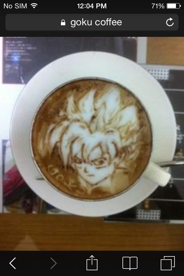 best coffee ever dragonballz