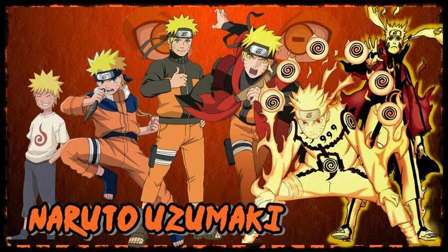 Naruto Evolution Of Naruto Uzumaki Anime Amino