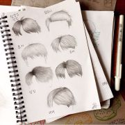 bts hairstyle fanart army's