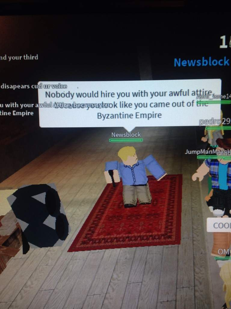 roasting not rapping roblox