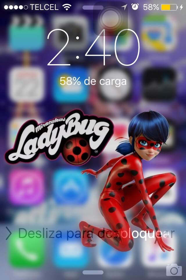 Iphone 7 Stuck On Wallpaper Fondo De Pantalla Estilo Miraculous Miraculous Ladybug