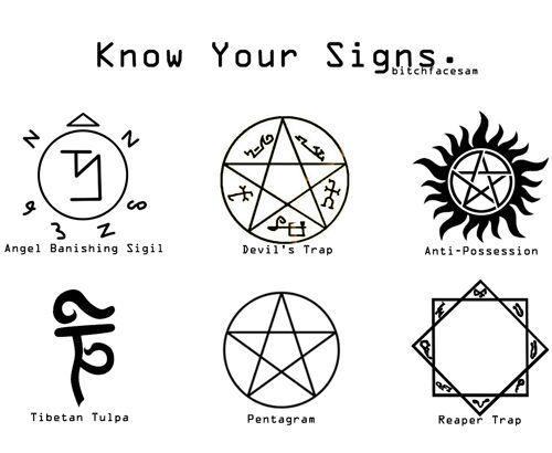 Supernatural y los símbolos  Mundo Secreto Amino