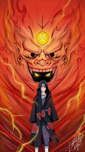 itachi uchiha susanoo anime