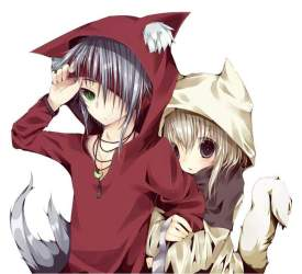 Wolf boy and wolf girl part 2 pics Anime Amino