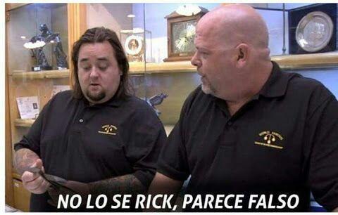 No sé Rick parece falso