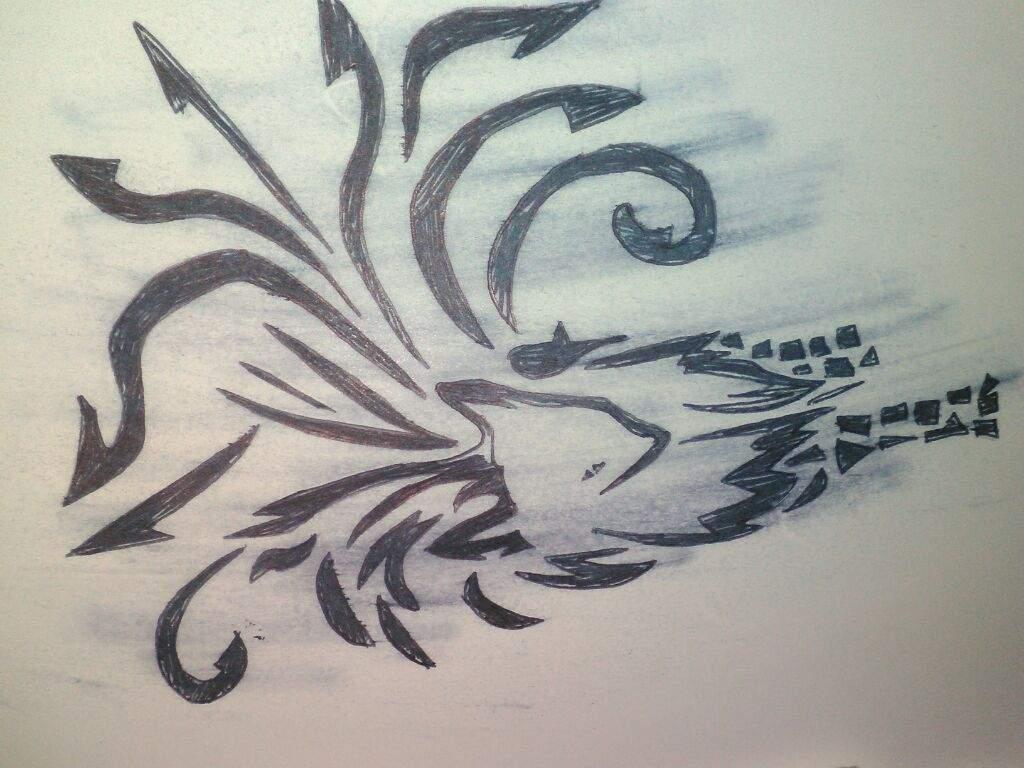 Zorro De 9 Colas Mi Primer Diseño De Tatuaje Arte Amino Amino
