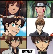 favorite anime hair color natural