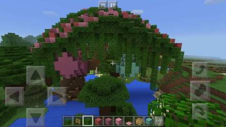 fairy treehouse minecraft