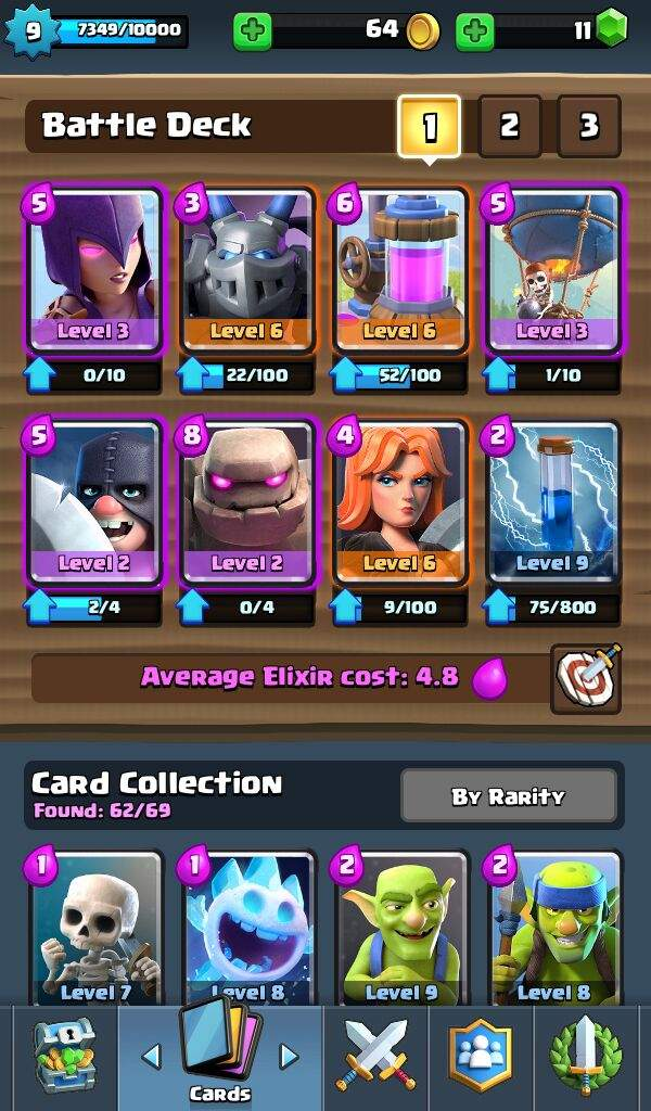 my deck for jungle
