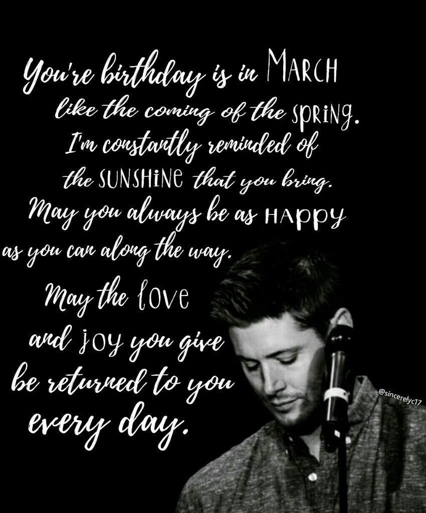 happy birthday jensen bday