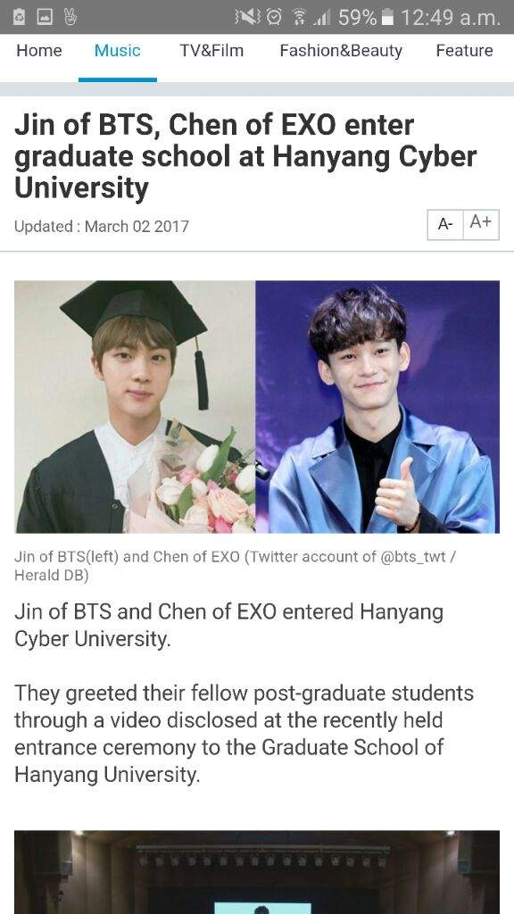 Hanyang Cyber University : hanyang, cyber, university, Enrolled, Hanyang, Cyber, University!, ARMY's, Amino