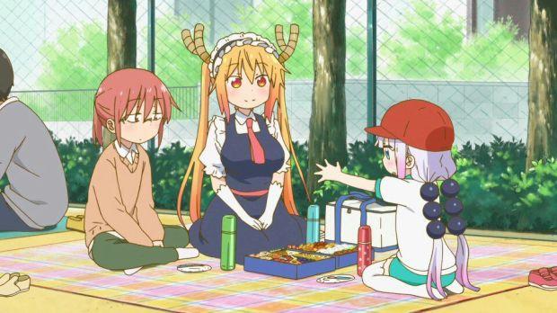 Image result for imagenes kobayashi san no maid dragon especial