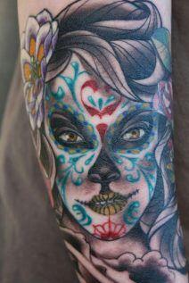 Tatuajes De Catrinas Love Tattoos Amino