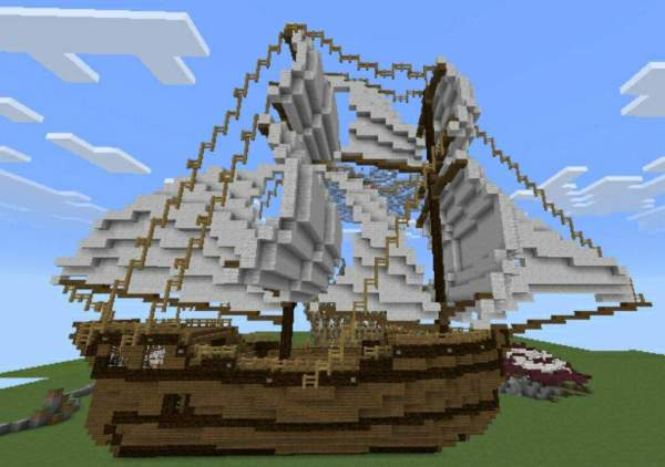 pirate ship minecraft # 8
