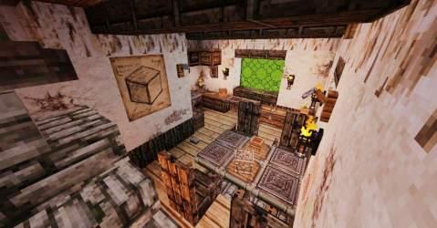 medieval kitchen dining interior minecraft series episode hello