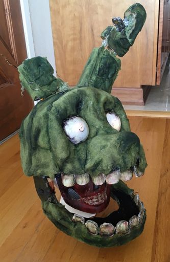 How To Make Springtrap Costume  Five Nights At Freddys