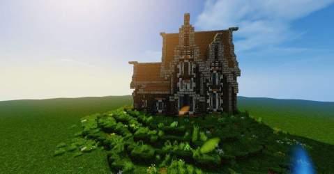 Medieval Kitchen Minecraft 3