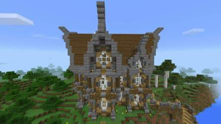 Medieval House Farm and Cove! BHC Minecraft Amino