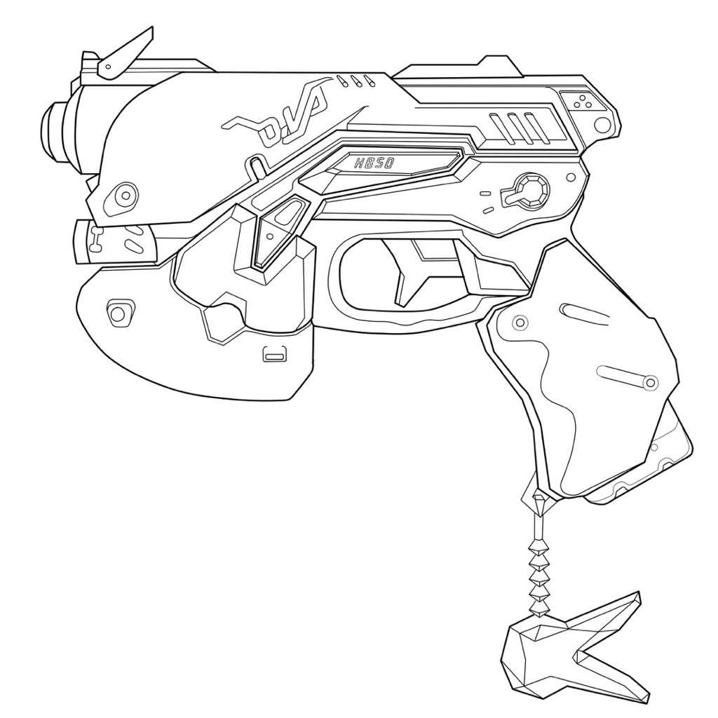 D Gun Blueprint