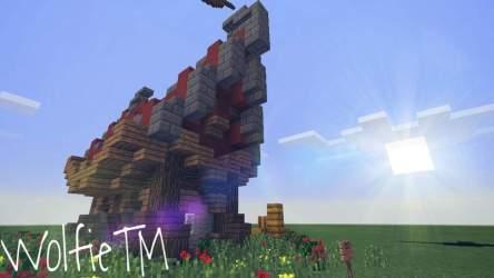 Fantasy House Tutorial! {4} Wolfie Minecraft Amino