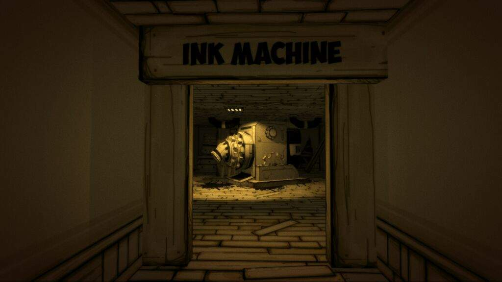 Bendy And The Ink Machine Main Characters Cute Wallpaper The Three Flashback S In Chapter 1 Bendy And The Ink