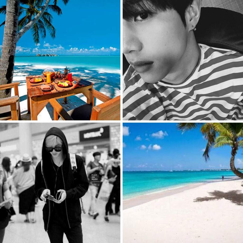 Mark Tuan Vacation Mood Board Got7 Amino