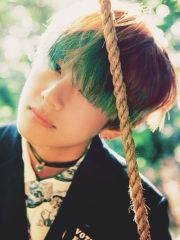 bts with green hair army's amino